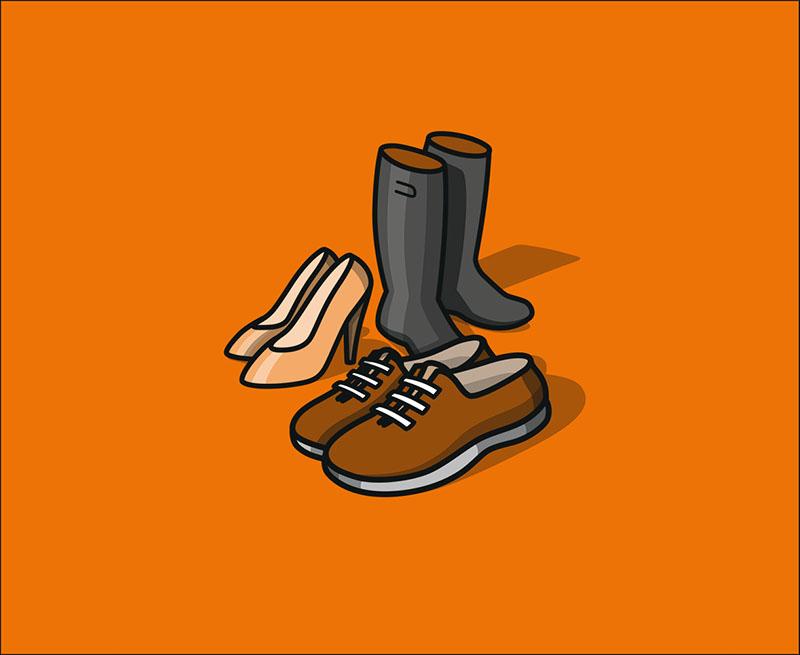 Adidas Schuhe, fast neu
